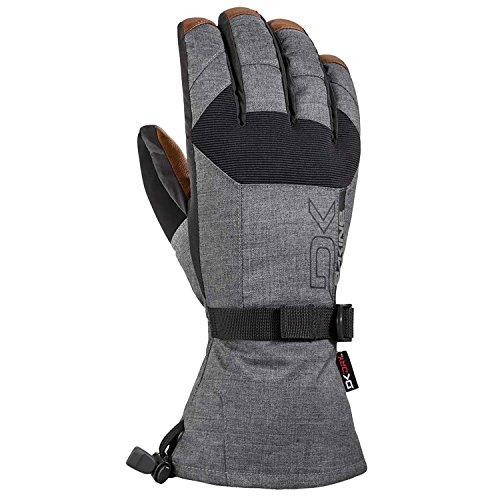 Dakine Leather Scout Ski Gloves Carbon