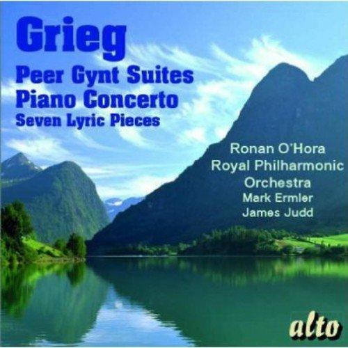 Grieg: Peer Gynt Suiten/Klavierkonzert in a-Moll/+