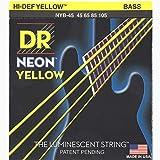 DR Strings HI-DEF NEON Bass Guitar Strings (NYB-45)