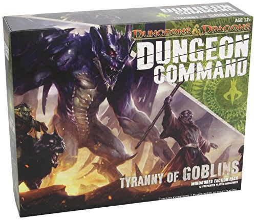 Dungeon Command: Tyranny of Goblins: A Dungeons & Dragons Expansion Pack (