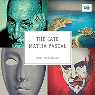 The Late Mattia Pascal audiobook cover art