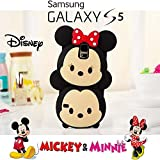 Coque Etui Housse 3D Disney Tsum Tsum Mickey et Minnie de Silicone Samsung Galaxy S5...