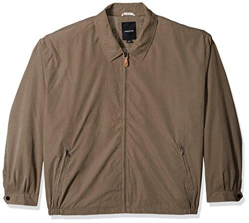 London Fog Men's Auburn Zip-Front Golf Jacket (Regular & Big-Tall Sizes), Olive, Medium