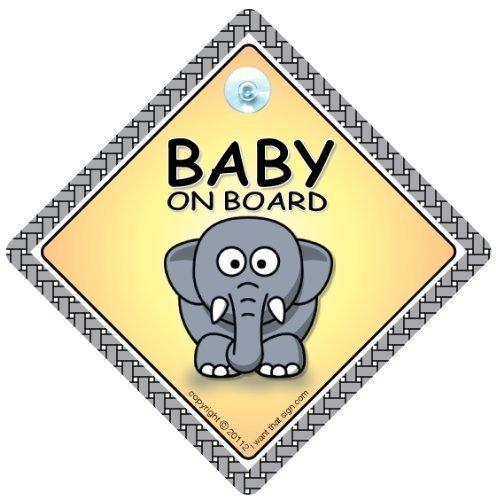 """""""baby On Board"""" -Schild, Marienkäfer, baby On Board, Sticker, Aufkleber baby On Board Schild, Grandchild, Unisex baby On Board """", Schwangerschafts-T-Shirt"""