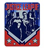 Justice League Movie Heroes Silk Touch Throw Blanket