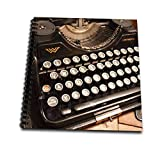 3dRose db 29072 2 Continental Typewriter-Memory Book, 12 by 12-Inch