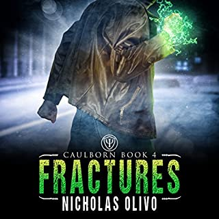 Fractures     Caulborn, Book 4              By:                                                                                                                                 Nicholas Olivo                               Narrated by:                                                                                                                                 Ian McEuen                      Length: 8 hrs and 9 mins     108 ratings     Overall 4.5