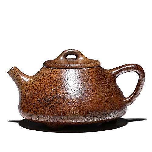 Xiang Ye Tetera Antigua de leña de Horno de dragón de Ley Tetera de Horno de Piedra de fundición Hecha a Mano Tetera de Horno de Alta Temperatura (Color : Firewood)