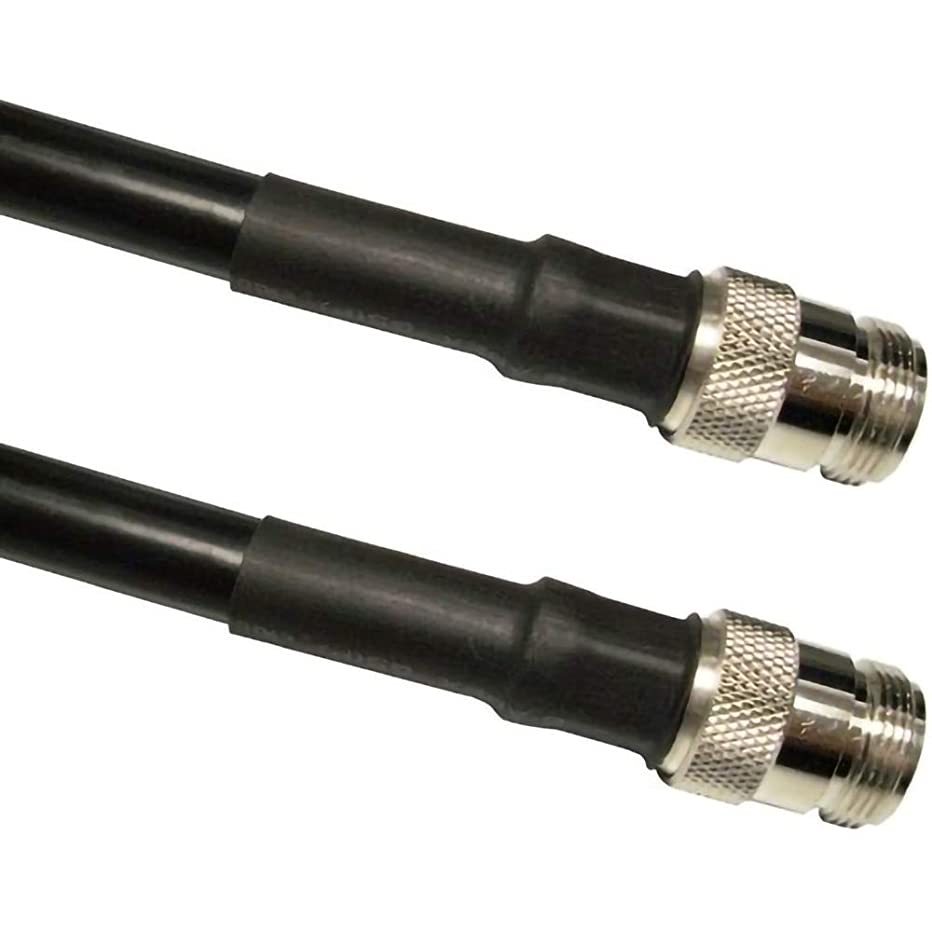 MPD Digital MPD-400/ LMR400 50 Ohm Superflex Extension Cable - N Female Jack to N Female Jack, 90ft