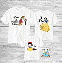 Funny disney couple shirts, I dont do matching shirts, I don't do matching shirts, snow white seven dwarfs couple shirts, Disney shirts D47