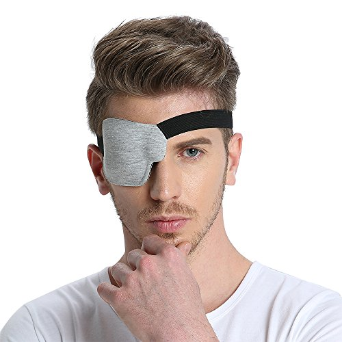 FCAROLYN 3D Eye Patch - Gray (Right Eye)