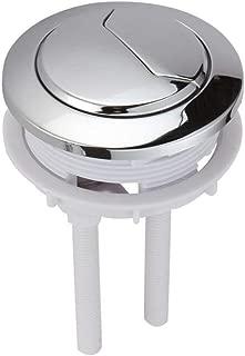 MyLifeUNIT Dual Push Flushing Toilet Button Toilet Tank Button Lever 58 mm Diameter