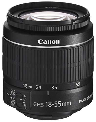 Canon EF-S 18-55 mm F3.5-5.6 IS II universele zoomlens (58 mm filterdraad) zwart