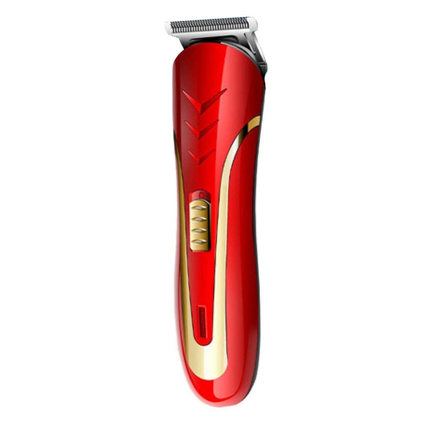 ビリーインタビューアラートQINJLI 電気バリカン、シェービング、脱毛、電気のフェーダー、充電式ライト、制限くし 15.7 * 4.1 cm