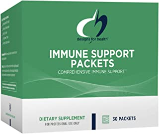 Designs for Health Immune Support Packets - One Month Supply Vitamin Packs with Immunitone Plus Mushroom Complex + Herbs, ...