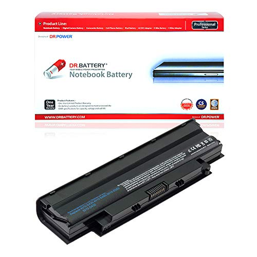 DR. BATTERY Compatible with Dell Laptop Battery J1KND Battery M5010 Battery N7110 Dell Battery Inspiron 3520 Laptop Battery 3550 Dell M5030 N4014 Dell 4T7JN Battery 04YRJH Dell [48Wh/4400mAh/10.8V]