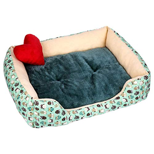 Generic Brands Warm House Removable Cat Bed House Mattress Puppy Cage Kennel Pet Products for Small Medium Large Dogs