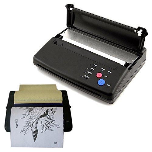Tattoo Termico Stencil Stampante di carta Marker Fotocopiatrice Macchina Transfer Copiatrice Stencil Copier Printer Nero AC110-220V