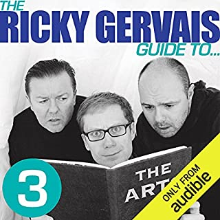 The Ricky Gervais Guide to... THE ARTS audiobook cover art