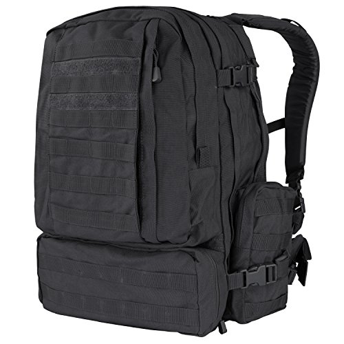 Condor Mochila 125-002 3-Days Assault, Color Negro