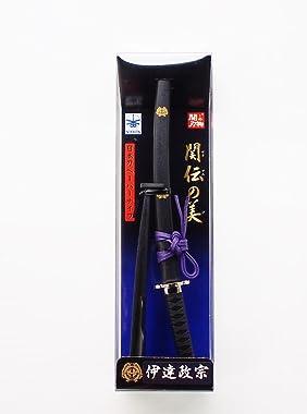 Seki Japan Samurai Sword Letter Opener, Date MASAMUNE Model, Japanese Stainless Steel Blades