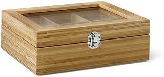 Schatzkiste - Teebox mit Ronnefeldt Teebeutel - Teavelope - gefüllt mit 60 Teebeuteln