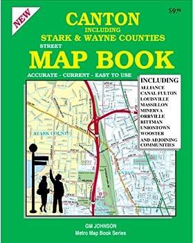 Canton / Stark & Wayne Counties Street Map Book (GM Johnson Metro Map Books)