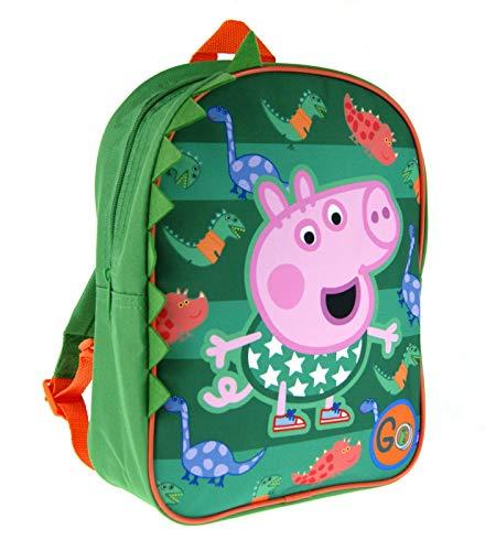 Peppa Pig George Backpack 3D Dinosaur Rucksack