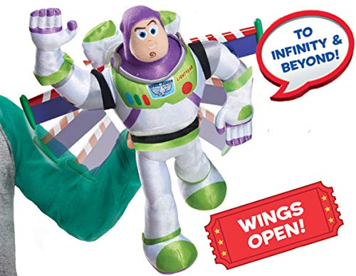 Toy Story 4 High-Flying Buzz Lightyear Feature Plush $9.58 (REG $24.99)