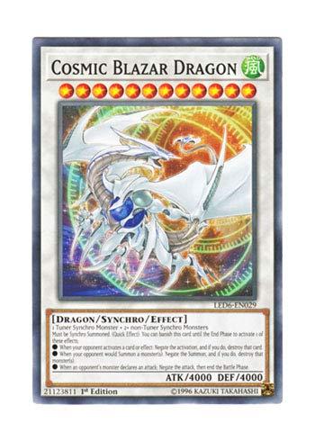 遊戯王 英語版 LED6-EN029 Cosmic Blazar Dragon コズミック・ブレイザー・ドラゴン (ノーマル) 1st Edition