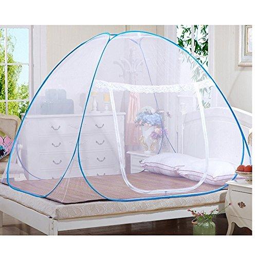 Candora Mosquitera , red plegable y sin instalaci, prevenir insectos, garantizar flujo de aire, ideal para uso interior y exterior, 1.5*2*1.5m