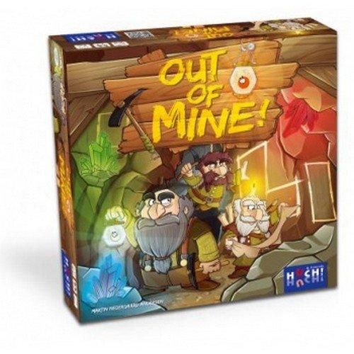 Huch & Friends 878526 - Out of Mine, behendigheidsspel