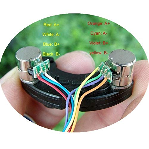 Without brand EG-BIANSU, 1 Set Miniatur 8MM Zwei-Phasen-Vier-Draht-Schrittmotor mit Reducer (Size : 8 MM)