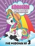 Einhorn Malbuch für Mädchen ab 3: 30 wunderschöne Einhorn Mandalas für Kinder ab 8 Jahren