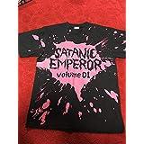 Mサイズ デトロイト メタル シティ 半袖 Tシャツ ブラック satanic emperor Volume.1 松山ケンイチ Detroit metal City diablos ホビーアイテム