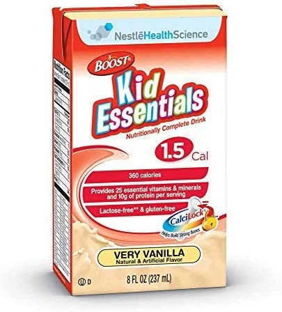 Boost Kids Finally popular Max 76% OFF brand Essential 1.5 Oral Supplement Tube 8 fl. Feeding Oz