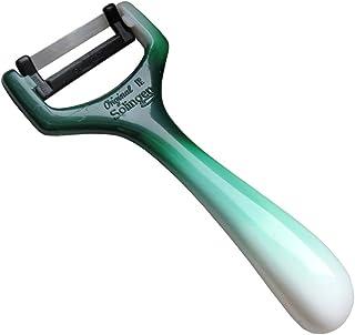 Pelador de Solingen/cuchillo de cortar/rallador – para pelar espárragos, patatas, verduras, pepinos – para diestros y zurdos