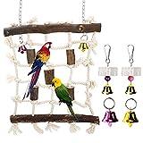 LINGSFIRE Juguetes para Pájaros, 3 paquetes de red...