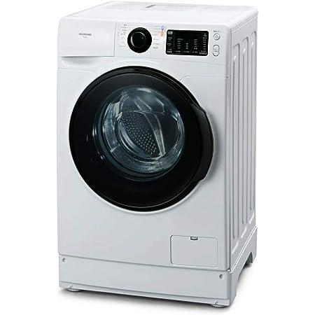 アイリスオーヤマ 洗濯機 ドラム式 8kg 温水洗浄 皮脂汚れ 部屋干し 節水 幅607mm 奥行672mm FL81R-W