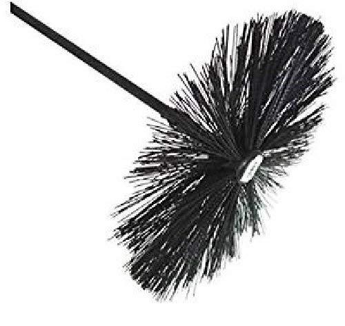 """Chimney Sweep Kit 16 Metre 3 in 1 Chimney Sweep Brush+Dryer Vent Cleaning Brush Kit+27/""""Long Flexible Radiator /& Dryer Duct Brush,Rotary Chimney Cleaning Kit,16x Chimney Cleaner Flexible Rods12mm SKamz"""