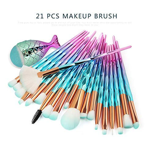 Make Up Brush Set Sirena Pincel de maquillaje Pincel cosmético Pincel de...