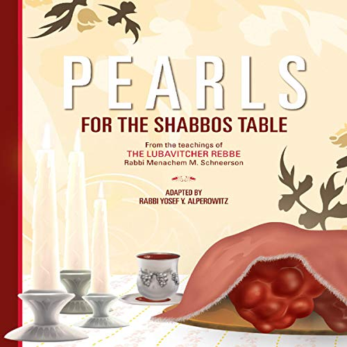 Pearls for the Shabbos Table audiobook cover art