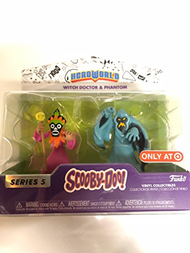 LAST LEVEL- Figura Pack Pop Scooby DOO Phantom & Witch,