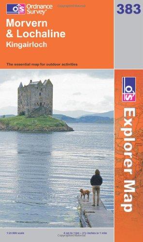 OS Explorer map 383 : Morvern & Lochaline