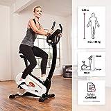 SportPlus Ergometer, ca. 9 kg Schwungmasse, Benutzergewicht bis 120 kg, geprüft nach EN ISO 20957-1, 957-5, mit optionaler Smartphone-Steuerung über Cardiofit App, SP-HT-9800-iE - 2
