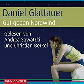 Gut gegen Nordwind     Emmi Rothner und Leo Leike 1              By:                                                                                                                                 Daniel Glattauer                               Narrated by:                                                                                                                                 Christian Berkel,                                                                                        Andrea Sawatzki                      Length: 4 hrs and 48 mins     13 ratings     Overall 4.8