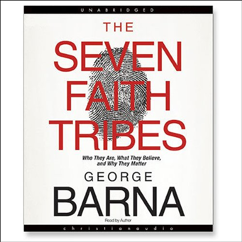 The Seven Faith Tribes audiobook cover art