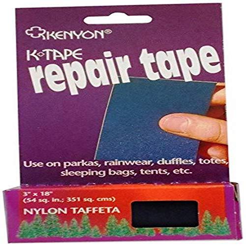 Kenyon Taffeta Pressure Sensitive Repair Tape, Navy