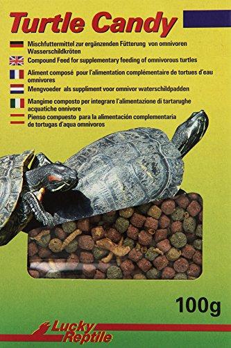 Lucky Reptile Turtle Candy 100g, Futter / Leckerbissen für Wasserschildkröten
