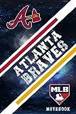Atlanta Braves Sport Notebook & Journal With Logo Team Atlanta Braves NFL , NHL , MLB , NCAA #A1